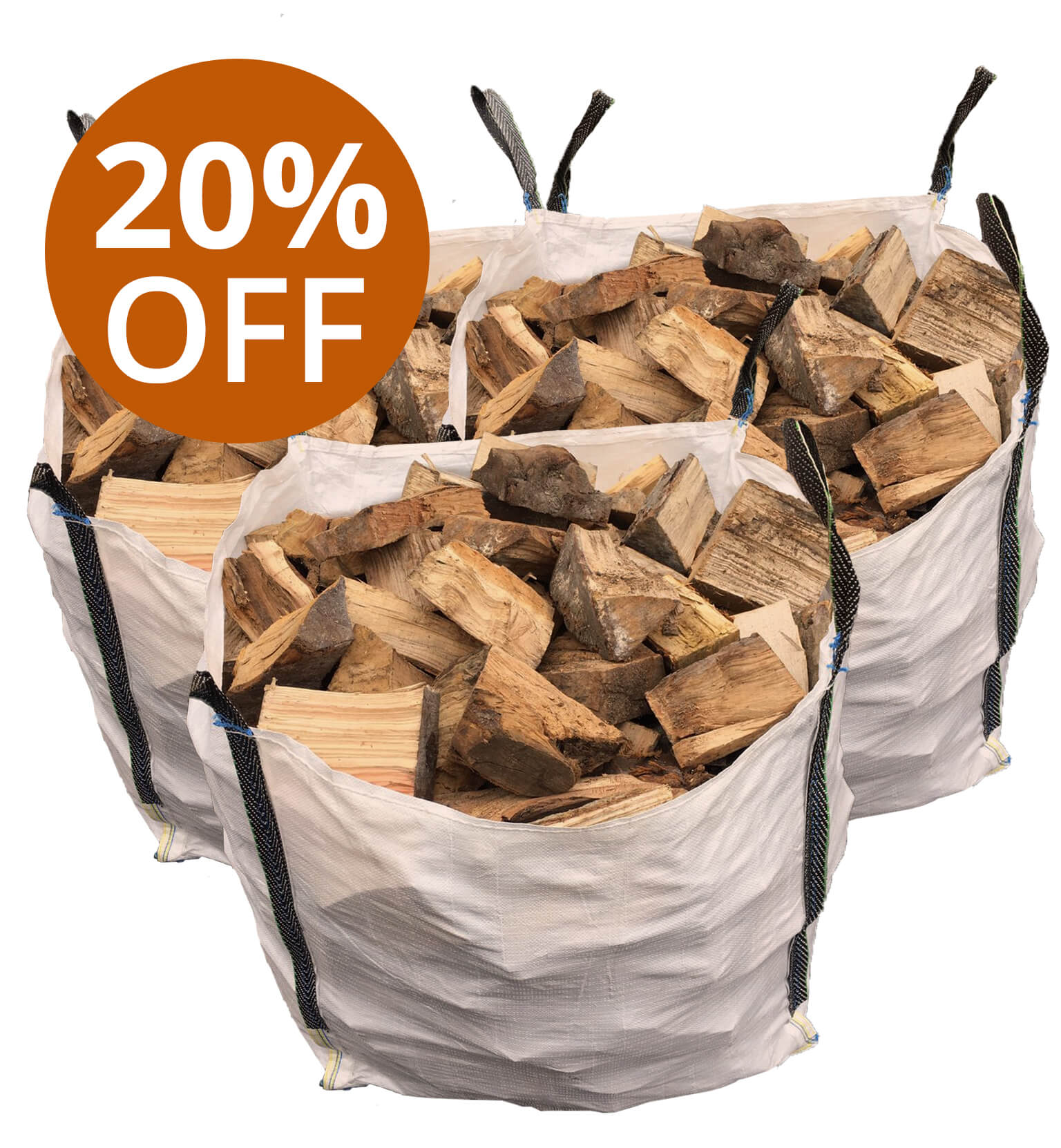 1 Van Load Of Hardwood Logs Leeds